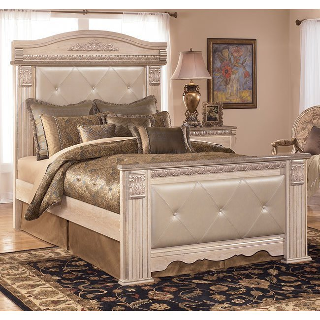 Best Silverglade Mansion Bedroom Set Signature Design Furniture Cart With Pictures