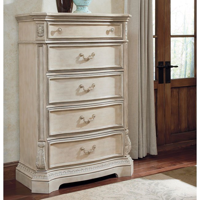 Best Ortanique Sleigh Bedroom Set Signature Design Furniture Cart With Pictures