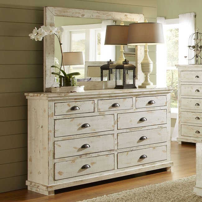 Best Willow Slat Bedroom Set Distressed White Progressive Furniture 14 Reviews Furniture Cart With Pictures