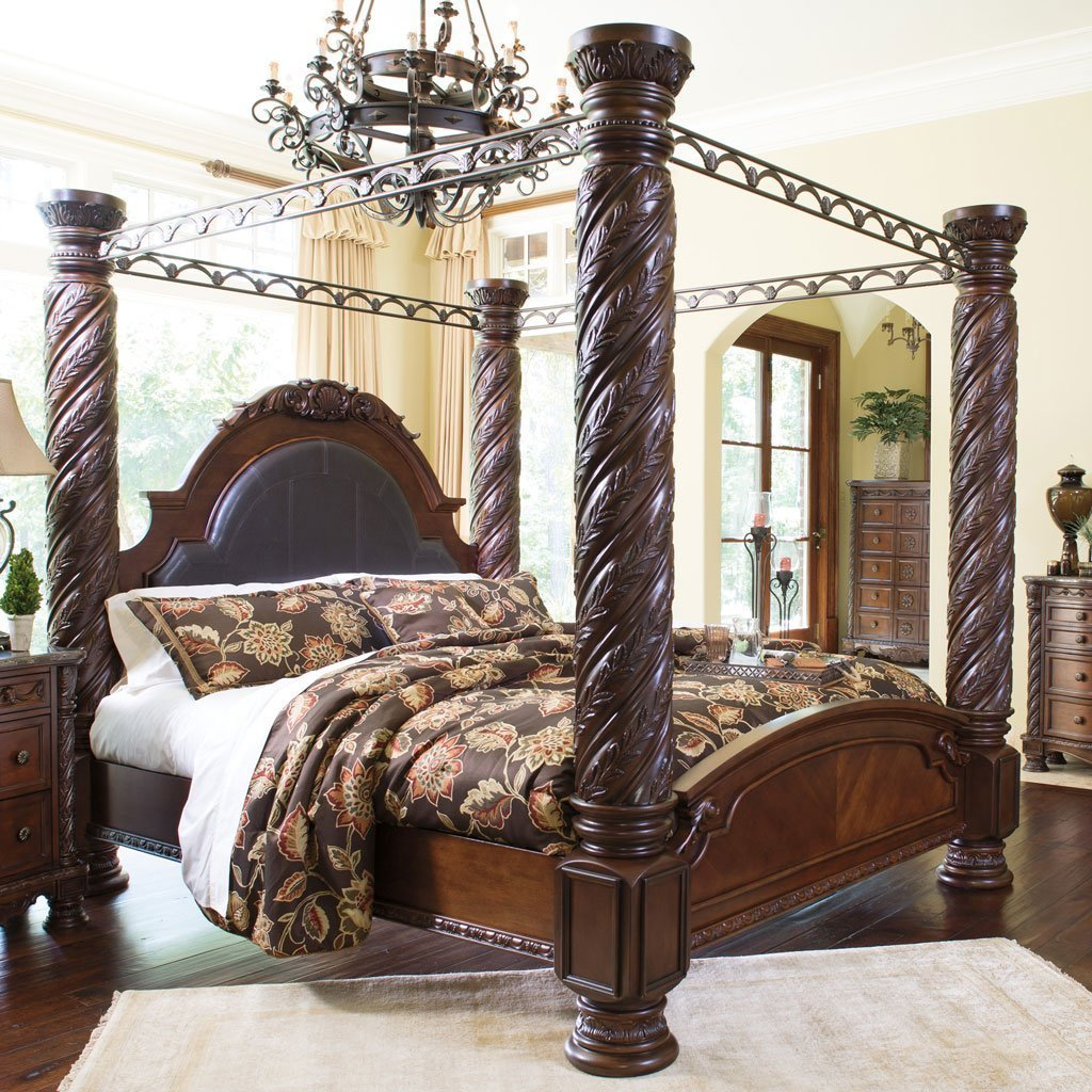 Best North Shore Canopy Bedroom Set Millennium 6 Reviews Furniture Cart With Pictures
