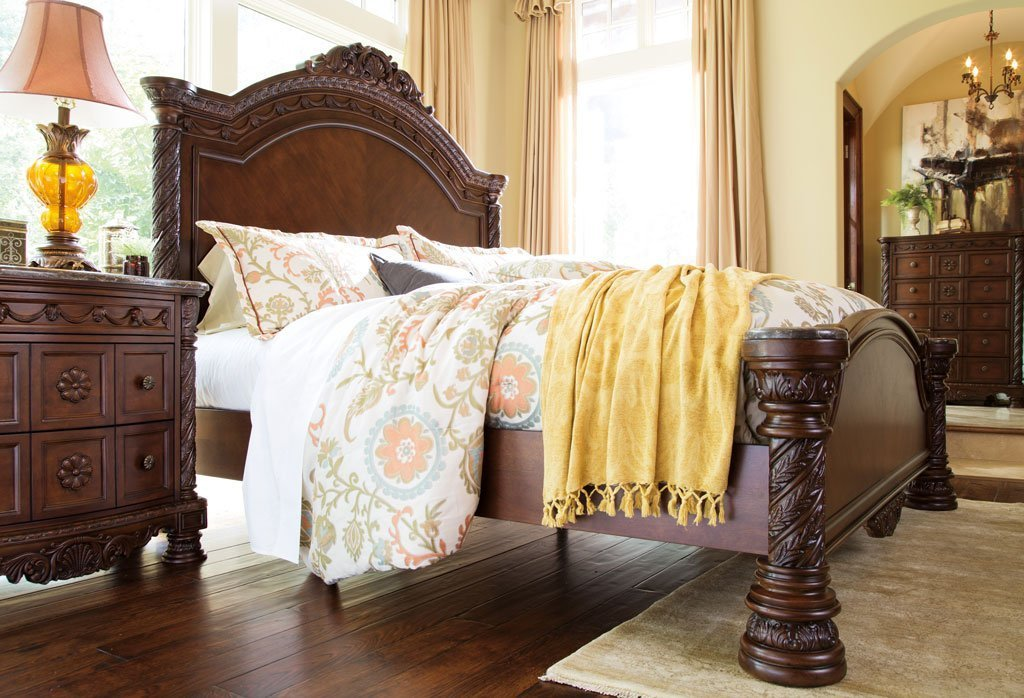 Best North Shore Panel Bedroom Set Millennium 3 Reviews Furniture Cart With Pictures
