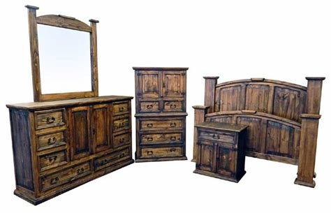 Best Rustic Bedroom Set Pine Wood Bedroom Set 5 Piece Bedroom Set With Pictures