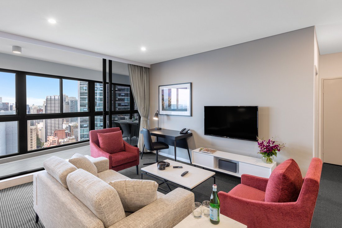 Best 2 Bedroom Darling Suite Kent Street Sydney Meriton Suites With Pictures