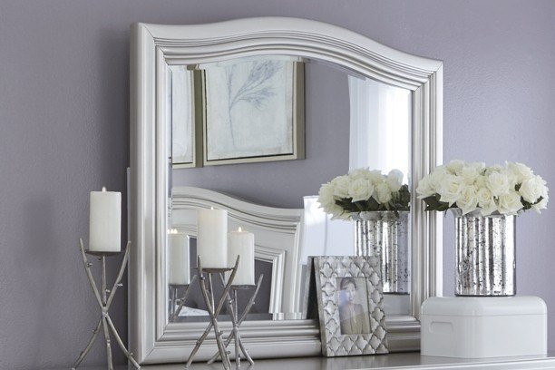 Best Coralayne Silver Bedroom Mirror B650 136 Mirrors With Pictures