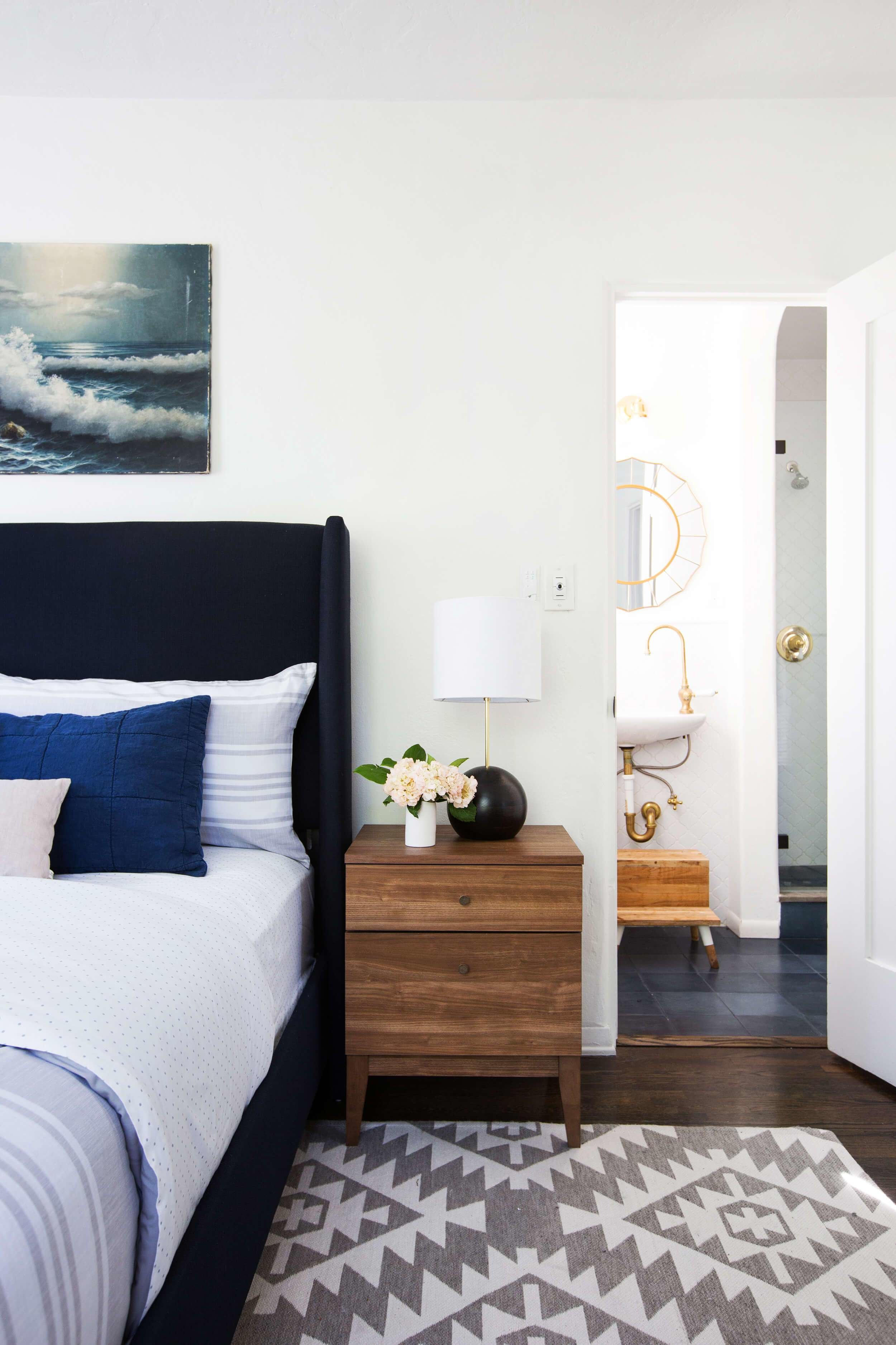 Best Power Couples Beds And Nightstands Emily Henderson With Pictures