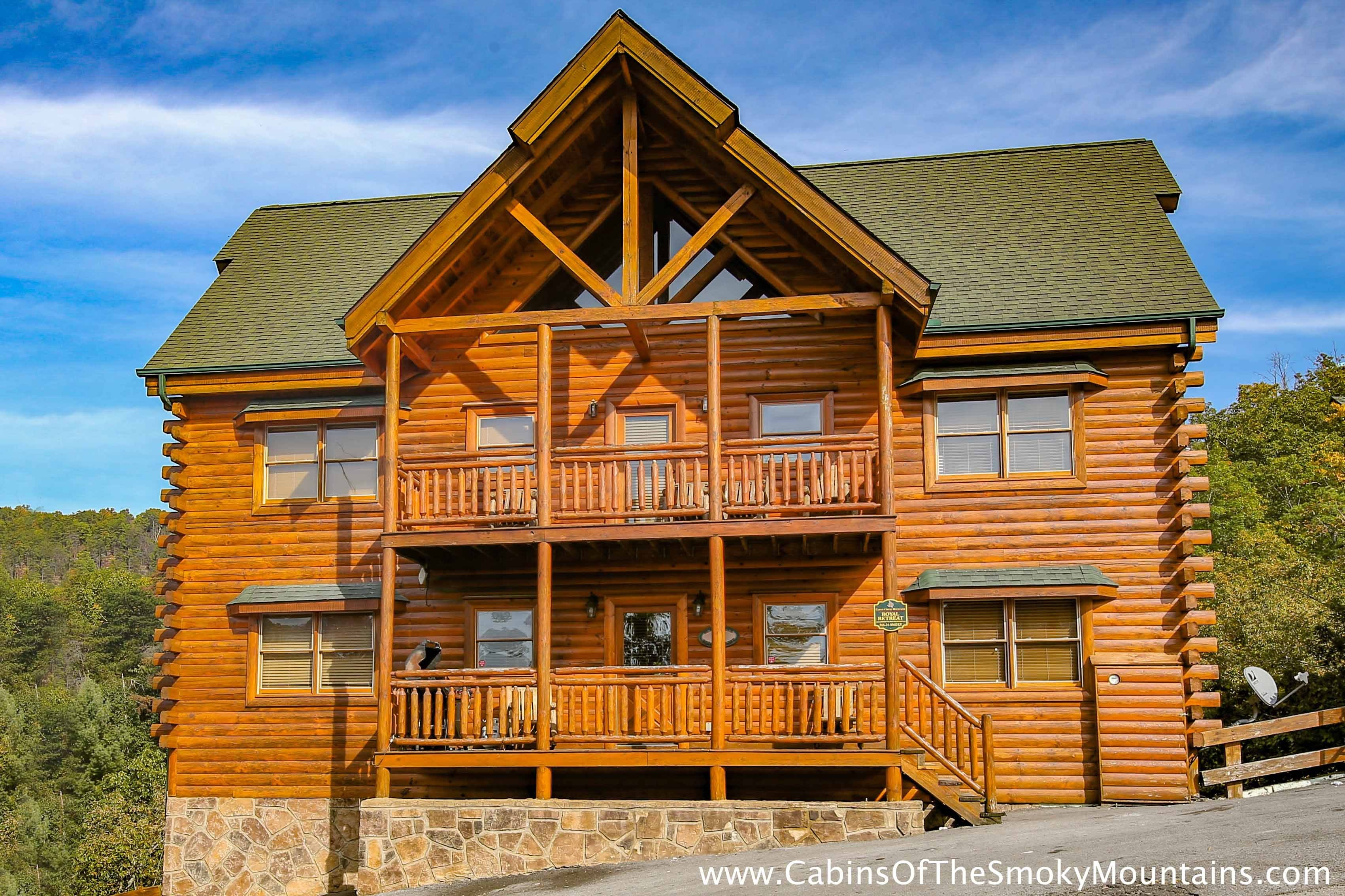Best 8 Bedroom Cabins In Pigeon Forge Tn With Pictures