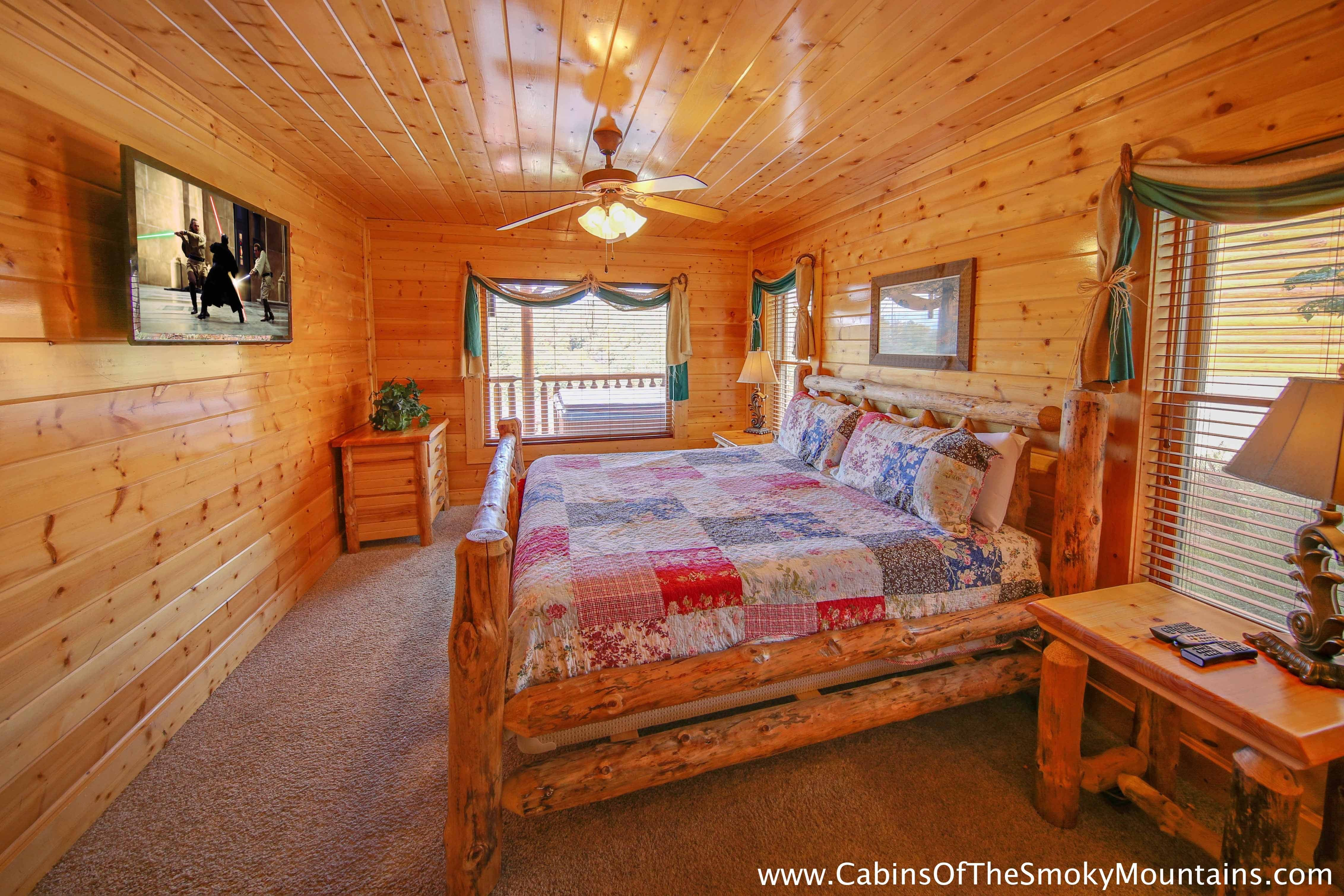 Best Pigeon Forge Cabin Elizabeth S View 1 Bedroom Sleeps With Pictures