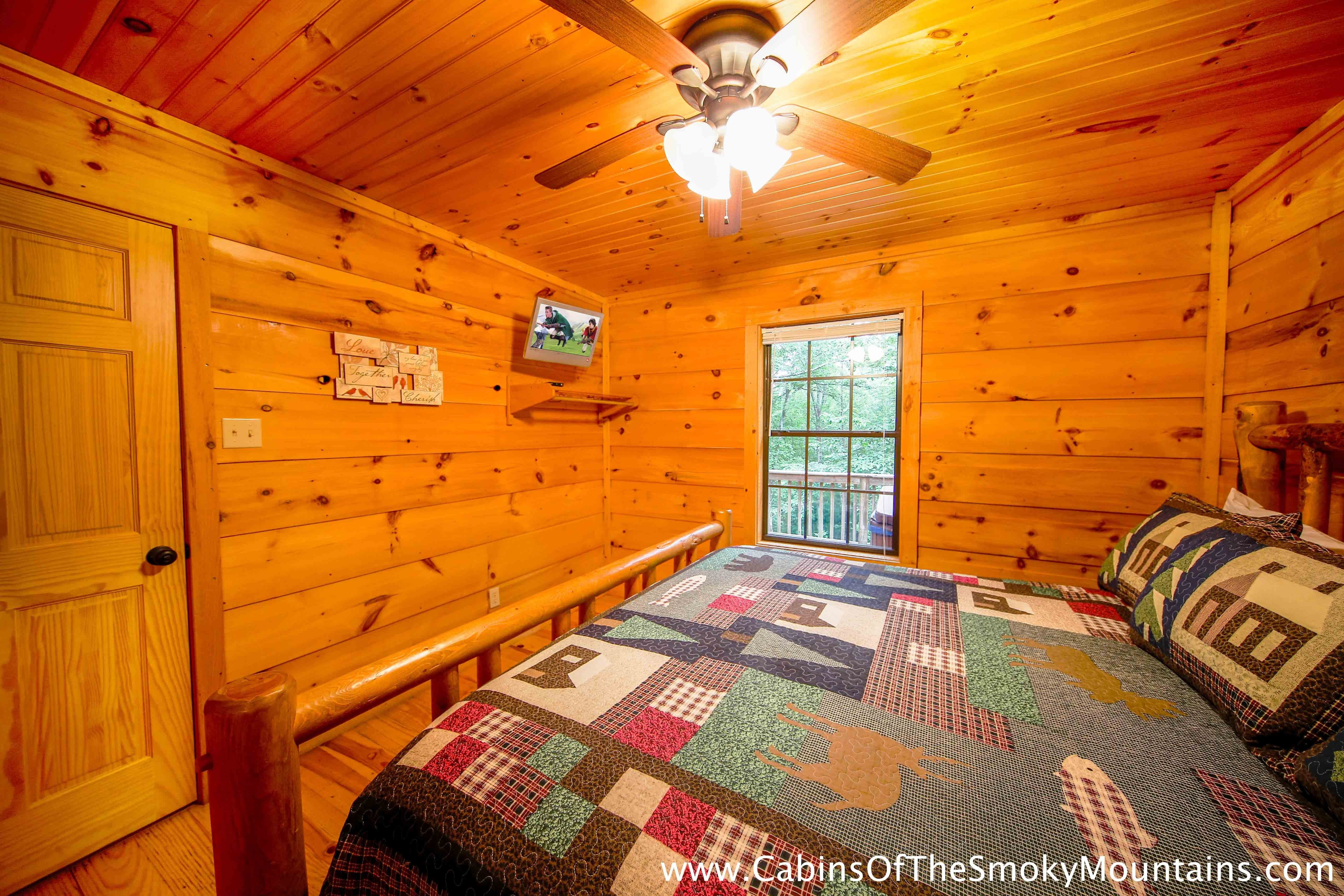 Best Pigeon Forge Cabin Dolly S Delight 1 Bedroom Sleeps With Pictures