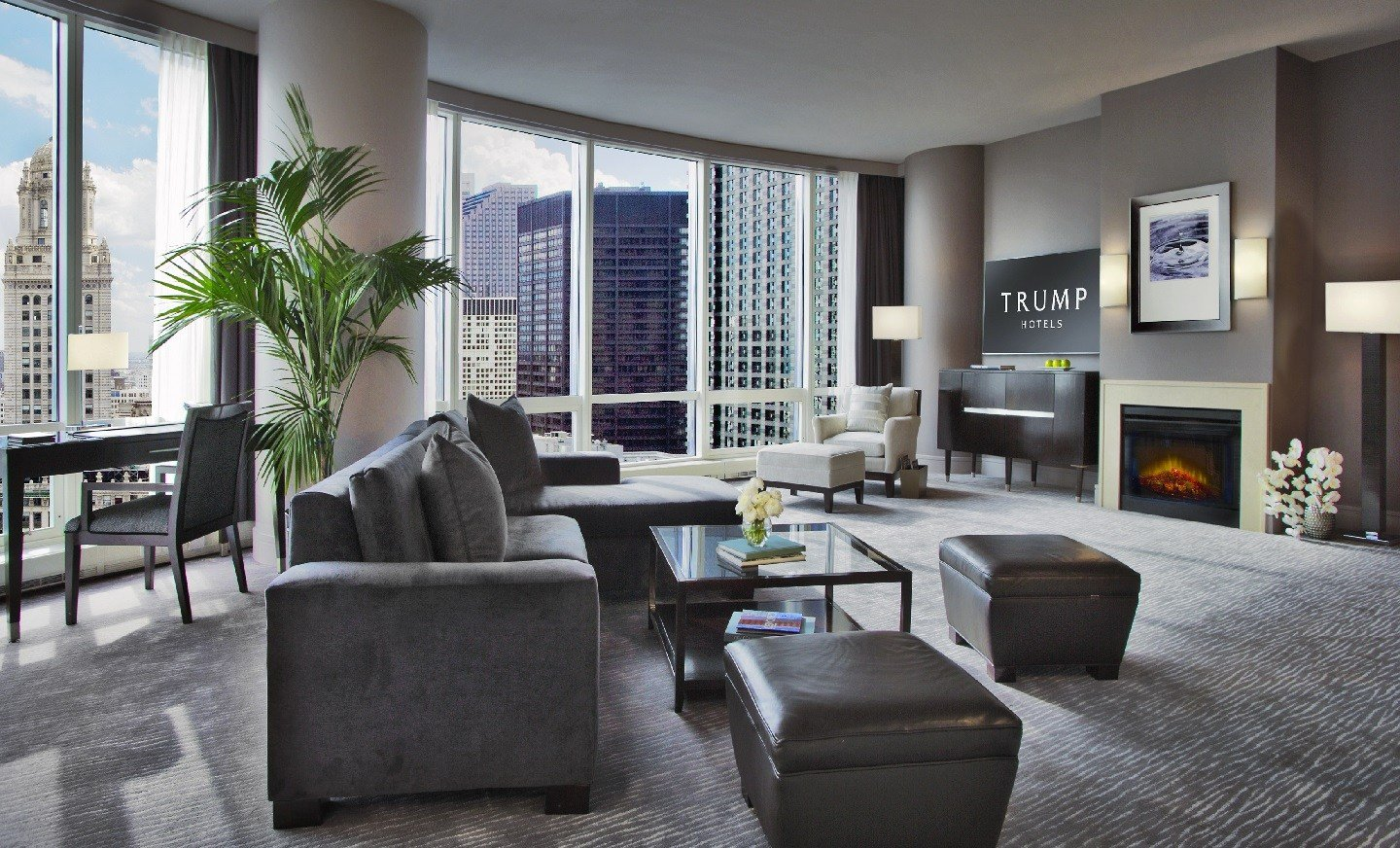 Best Suites In Chicago Trump Chicago Grand Deluxe Suites With Pictures