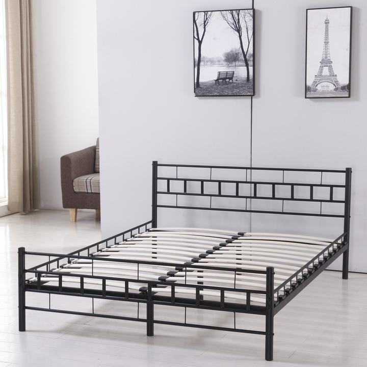 Best Metal Heavy Duty Twin Full Queen King Size Platform Bed With Pictures