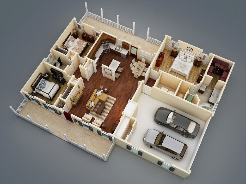 Best What Makes A Split Bedroom Floor Plan Ideal The House Designers With Pictures