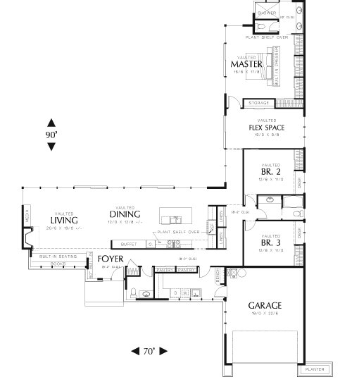 Best Palermo 8234 3 Bedrooms And 2 Baths The House Designers With Pictures