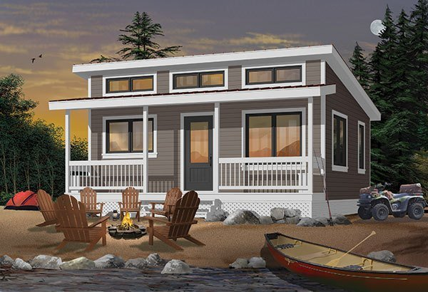 Best Two Bedroom Lake House Plan With Pictures