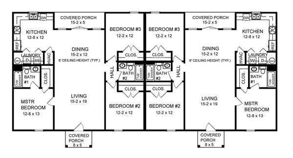 Best Three Bedroom Duplex 7085 3 Bedrooms And 2 5 Baths The With Pictures
