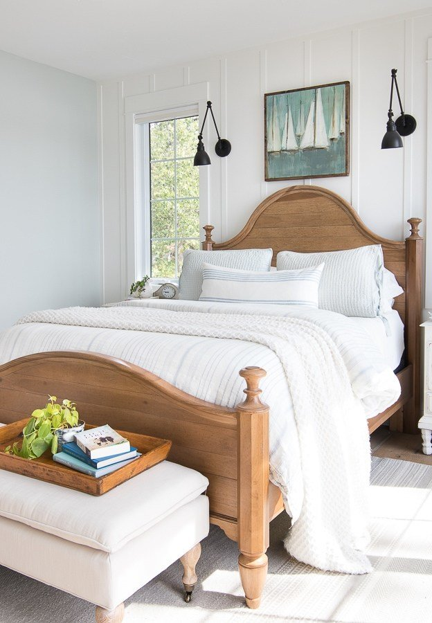 Best Lake House Master Bedroom The Lilypad Cottage With Pictures