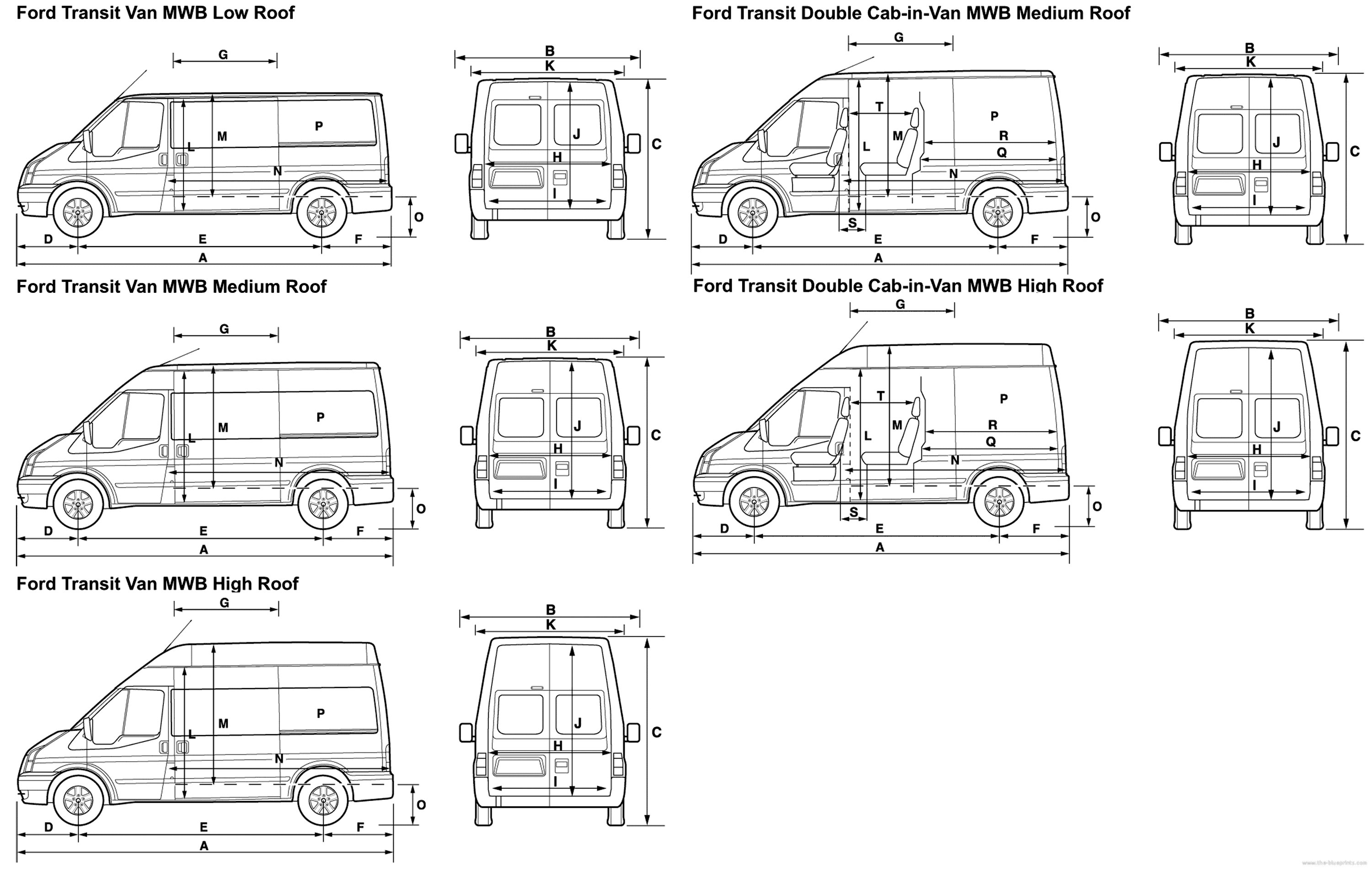 Best Ford Transit Interior Dimensions 2007 Www Indiepedia Org With Pictures