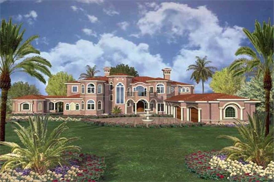 Best 7 Bedroom House Plan 10433 Sq Ft Luxurious Spanish Design With Pictures
