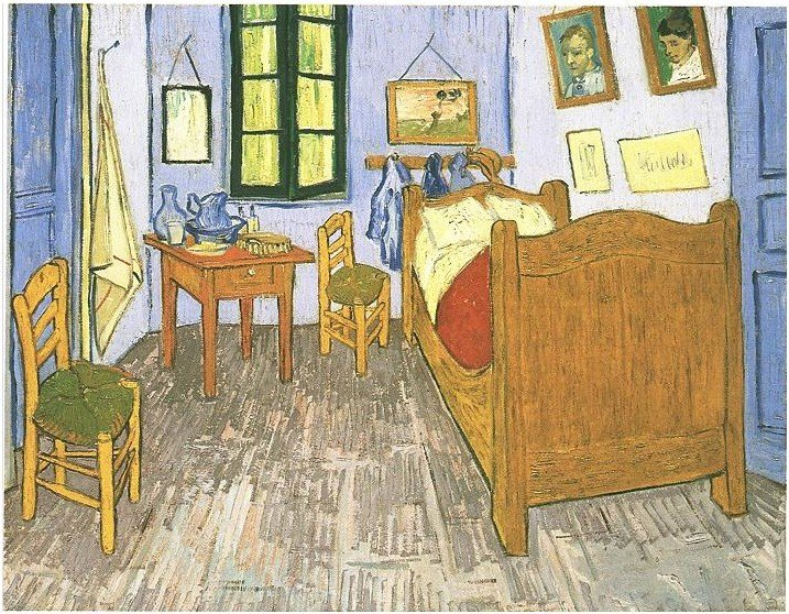 Best Vincents Bedroom In Arles By Vincent Van Gogh 716 Painting With Pictures