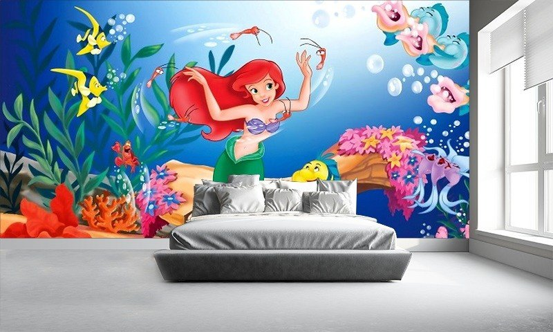 Best Disney Wallpaper Childrens Wallpapers Little Mermaid With Pictures