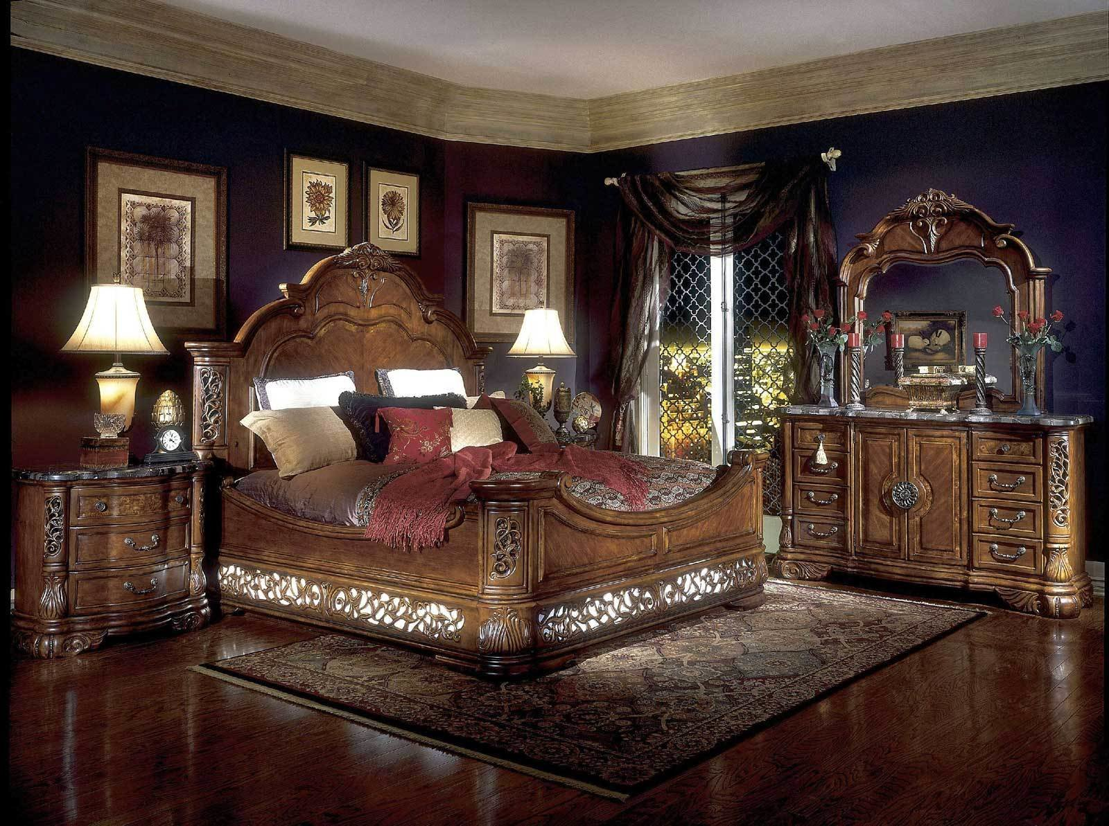 Best Enhance The King Bedroom Sets The Soft Vineyard 6 Amaza With Pictures