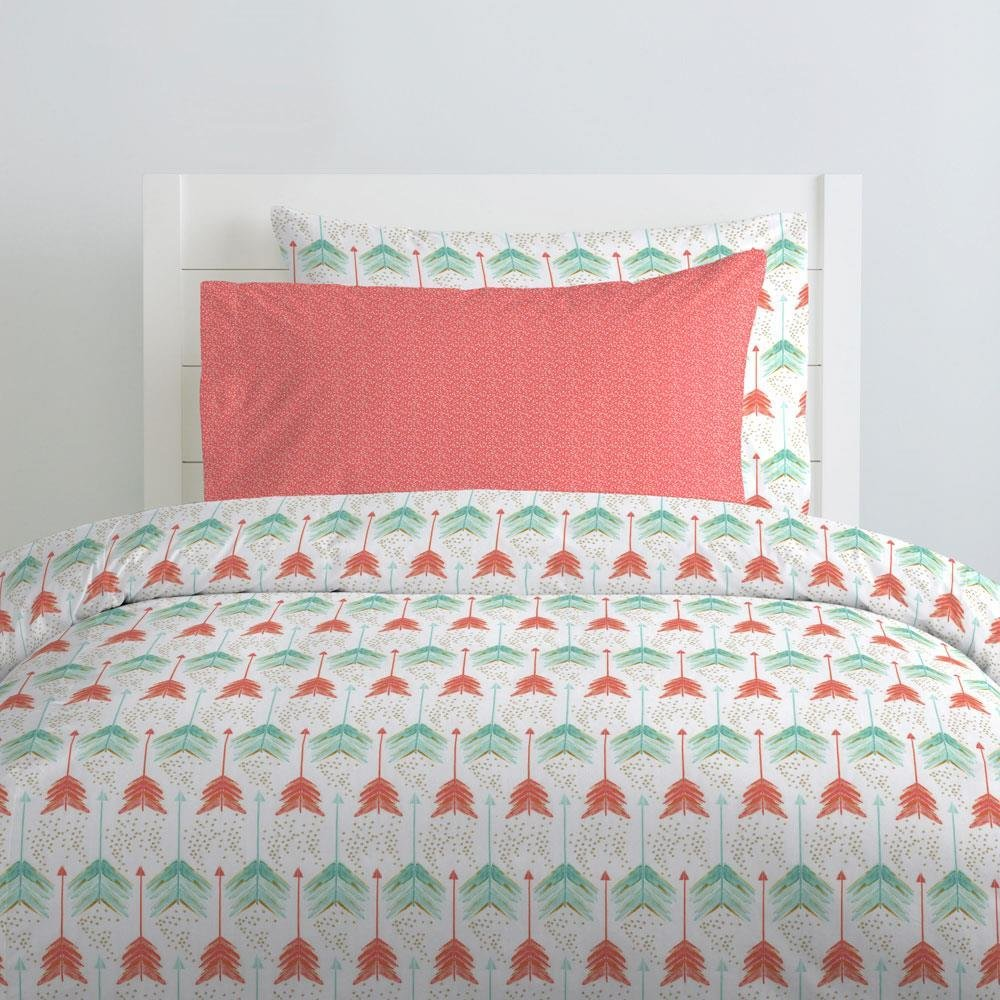 Best Coral And Teal Arrow Kids Bedding Carousel Designs With Pictures