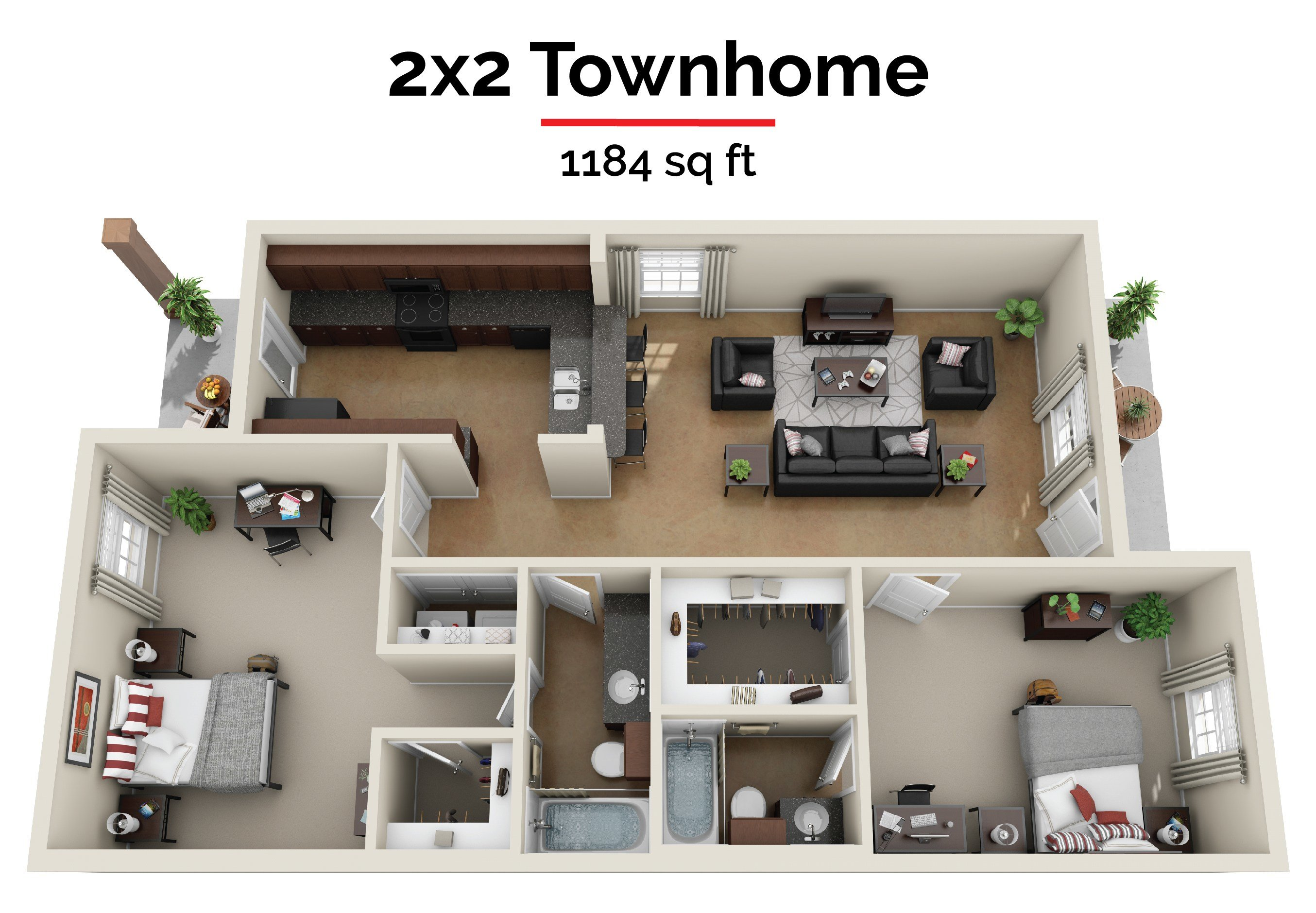 Best Floor Plans The Barracks Townhomes Best Townhomes In With Pictures