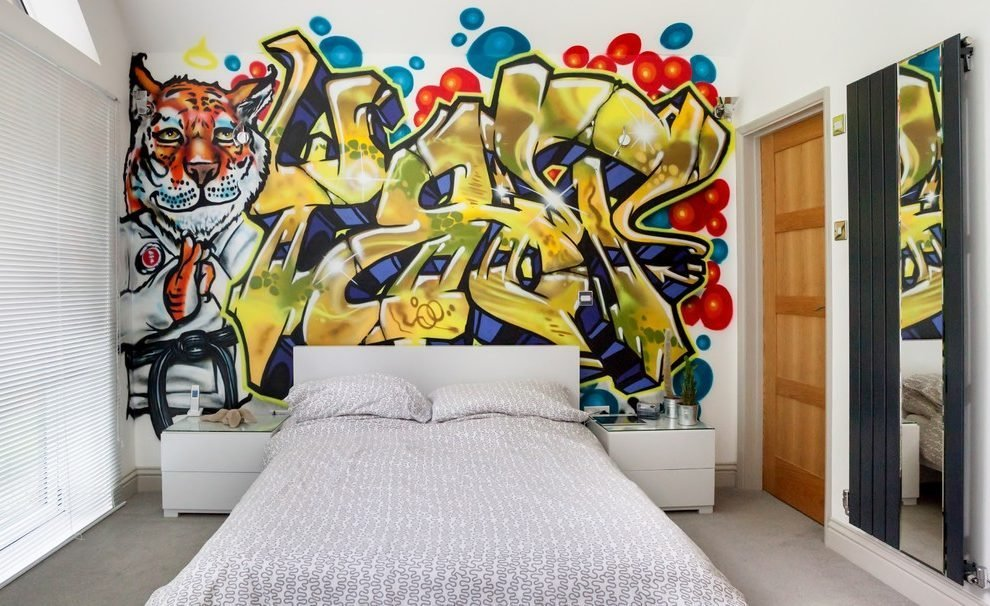 Best Funky Girl Bedroom Wall Art Bedroom Contemporary With With Pictures