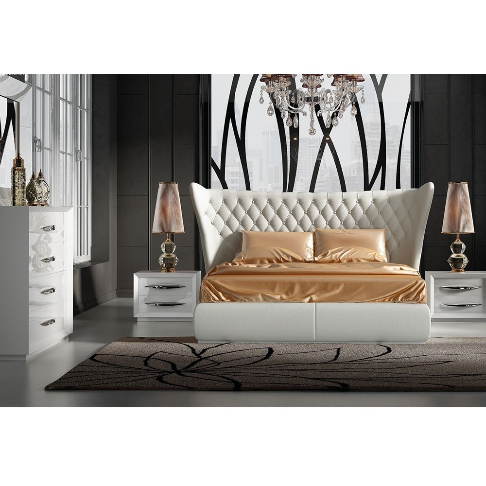 Best Miami Bedroom Set By Noci Design – City Schemes Contemporary Furniture With Pictures