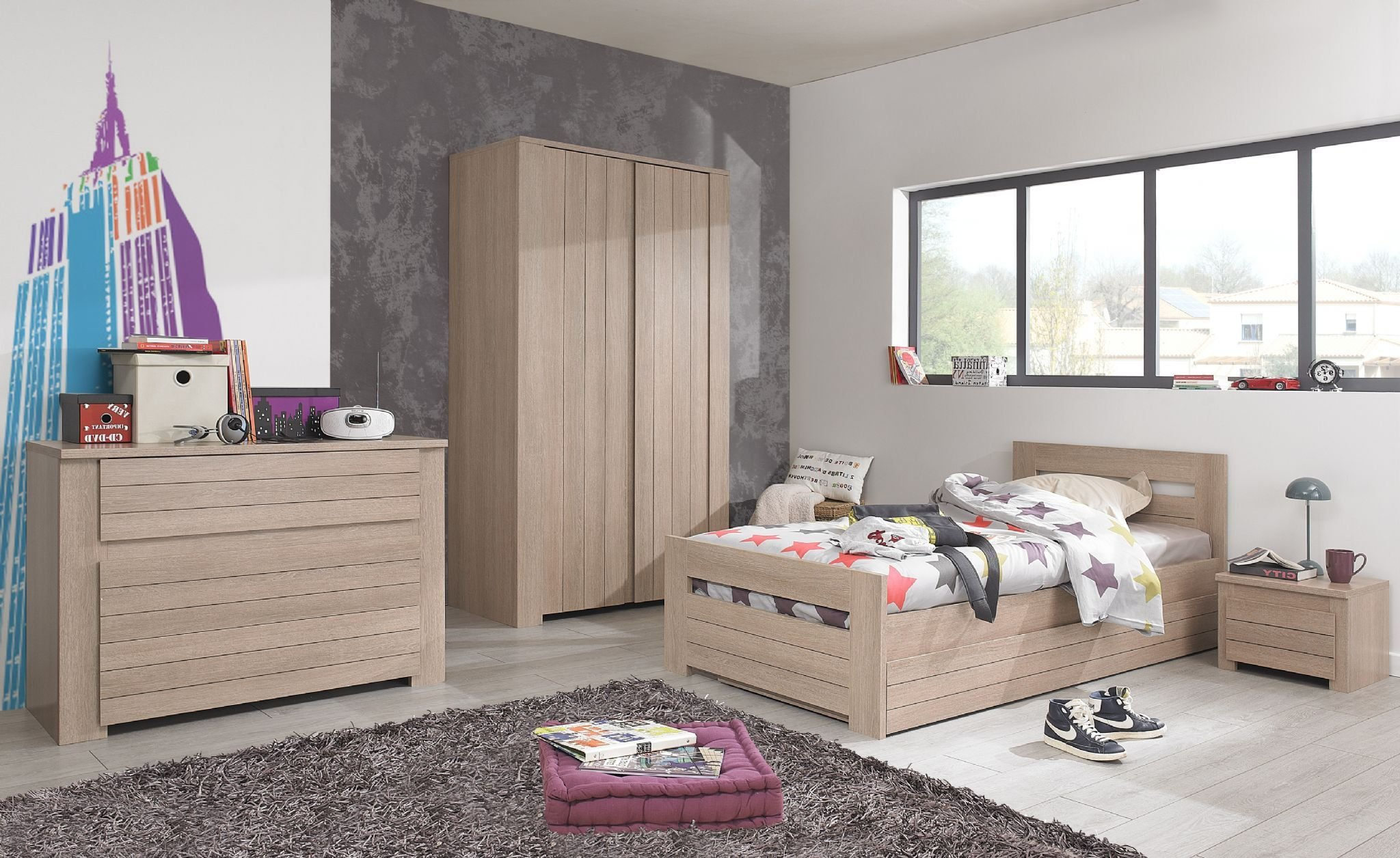 Best Gami Naturella Bedroom Set 2 Day Bed Chest Of Drawers With Pictures