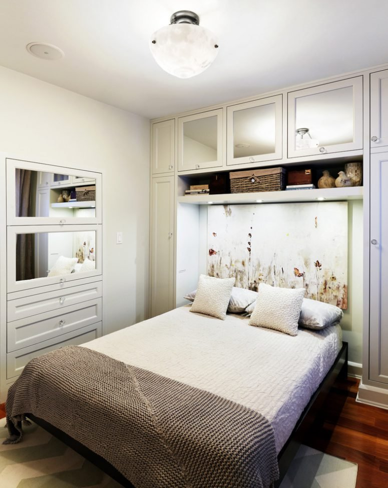 Best 57 Smart Bedroom Storage Ideas Digsdigs With Pictures