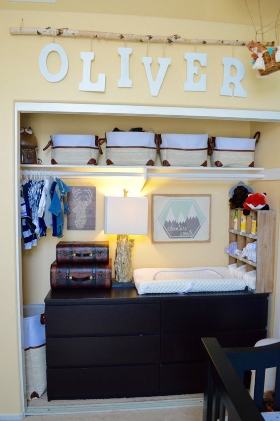 Best 35 Cute Yet Practical Nursery Organization Ideas Digsdigs With Pictures