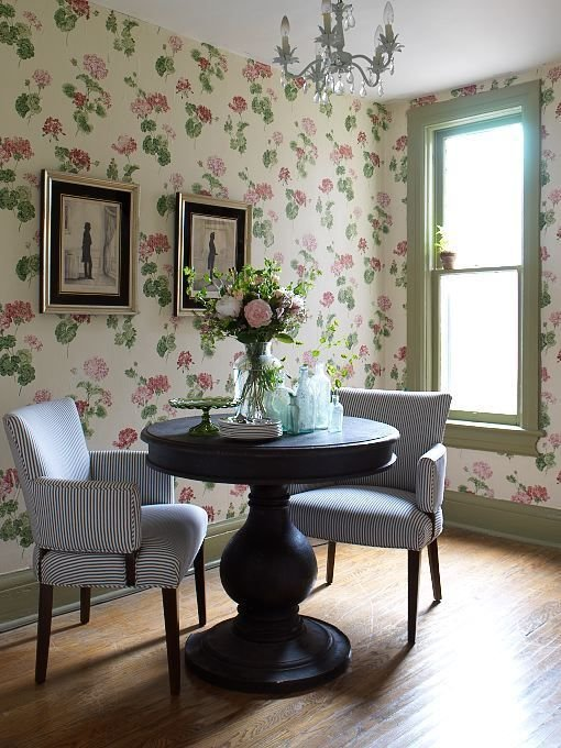 Best Decorating With Botanical Wallpaper 31 Beautiful Ideas With Pictures