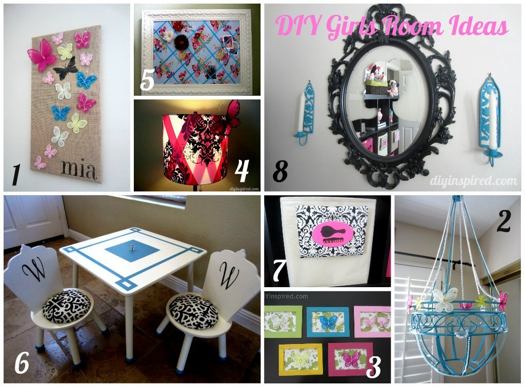 Best 8 Diy Girls Room Ideas Diy Inspired With Pictures