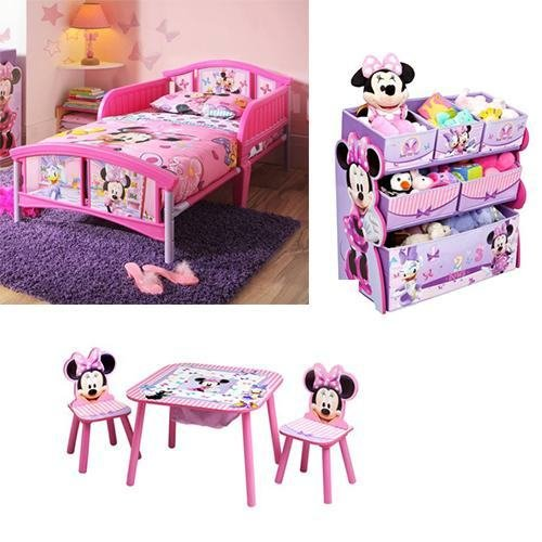 Best Cute And Worth To Buy Minnie Mouse Bedroom Set For Toddler With Pictures