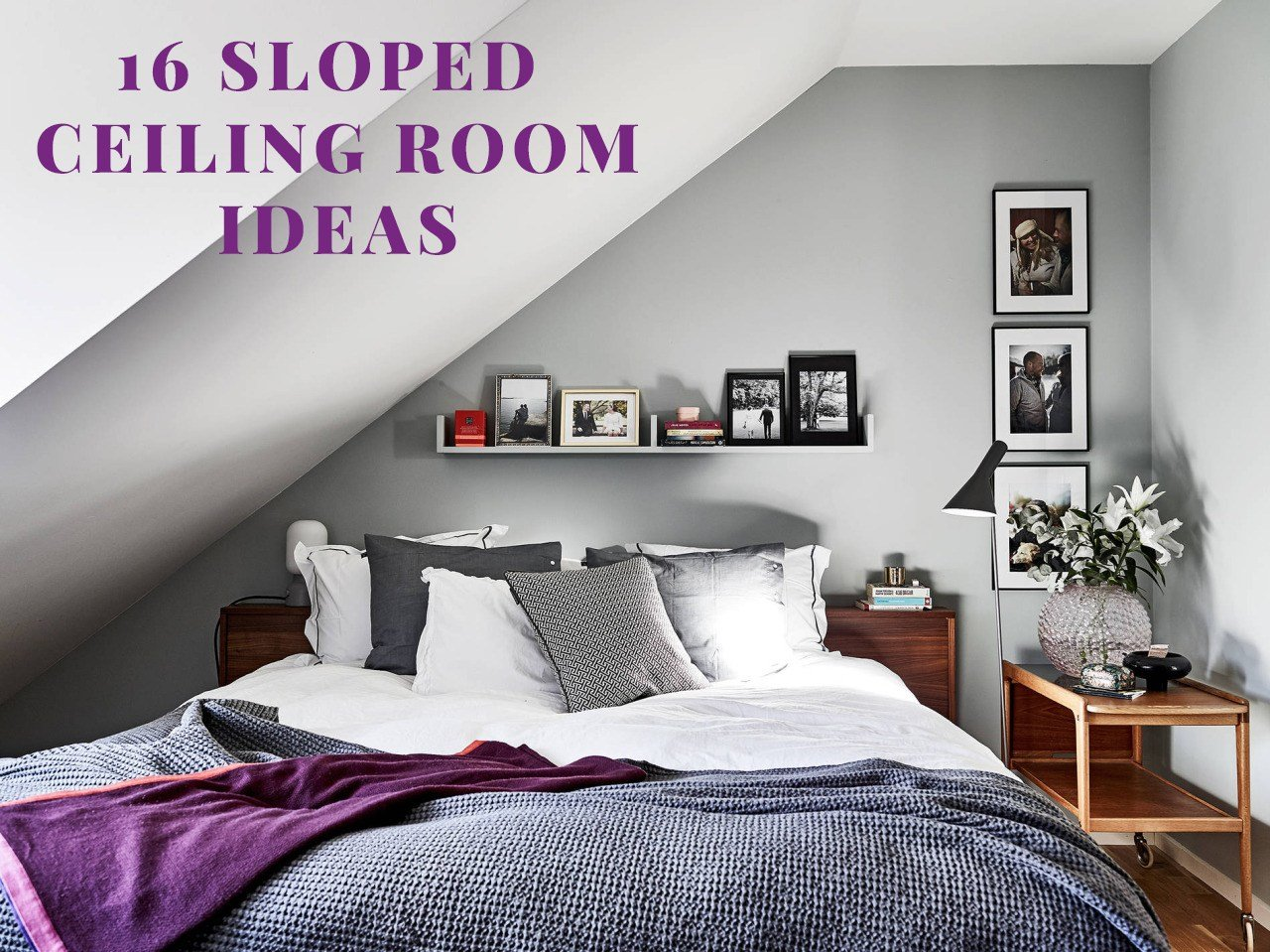 Best Sloped Ceiling Room Ideas Viskas Apie Interjerą With Pictures