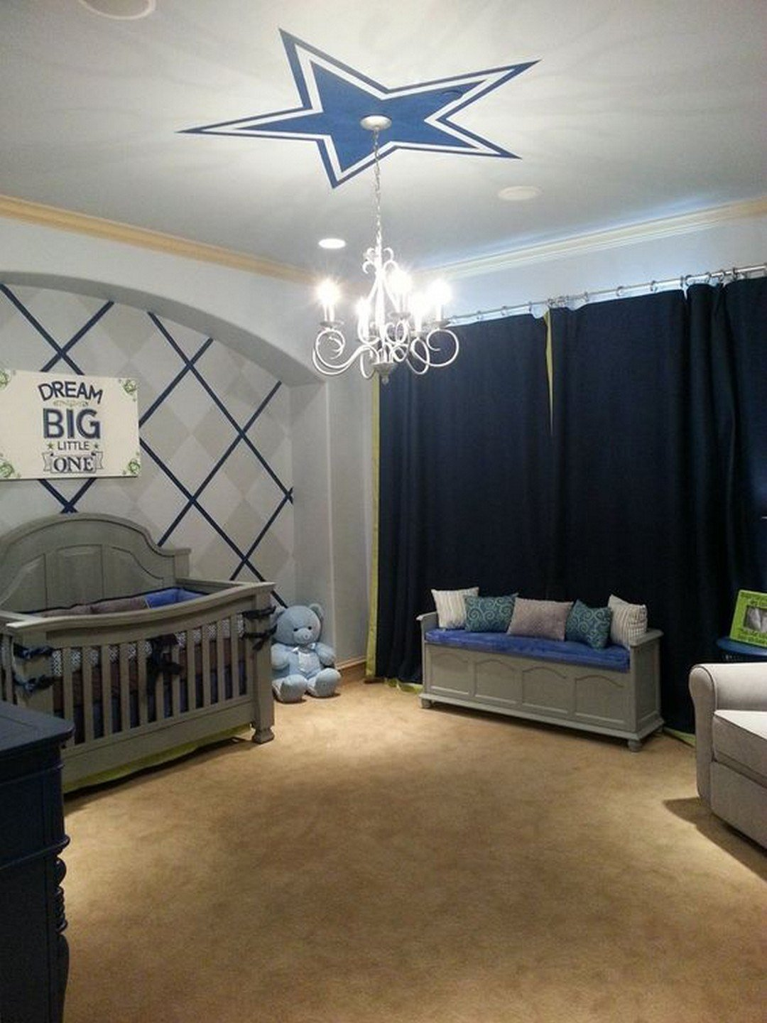 Best Amazing Dallas Cowboy Bedroom Designs To Maximize Your With Pictures