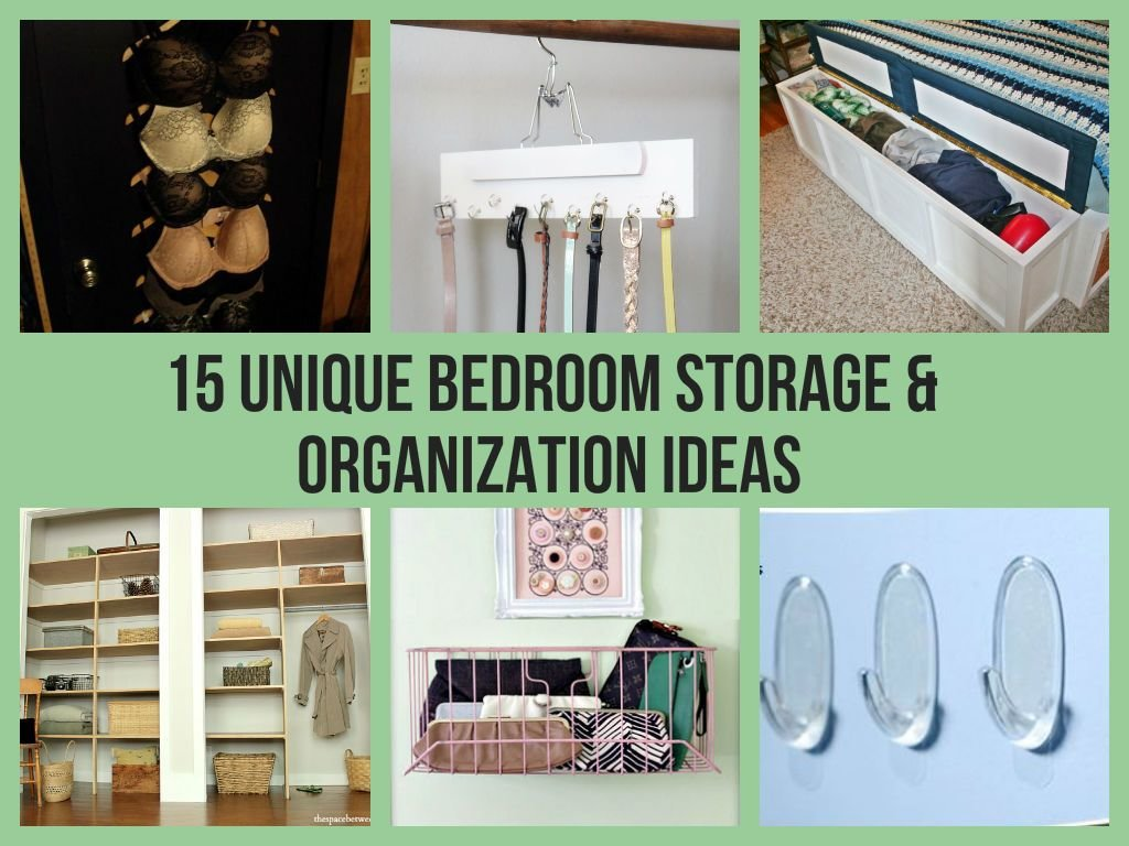Best 15 Unique Bedroom Storage Organization Ideas With Pictures