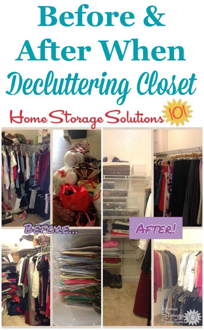 Best How To Declutter Closet Shelves Drawers With Pictures