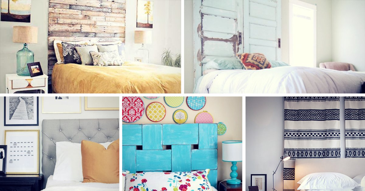 Best 17 Cool Diy Headboard Ideas To Upgrade Your Bedroom Homelovr With Pictures