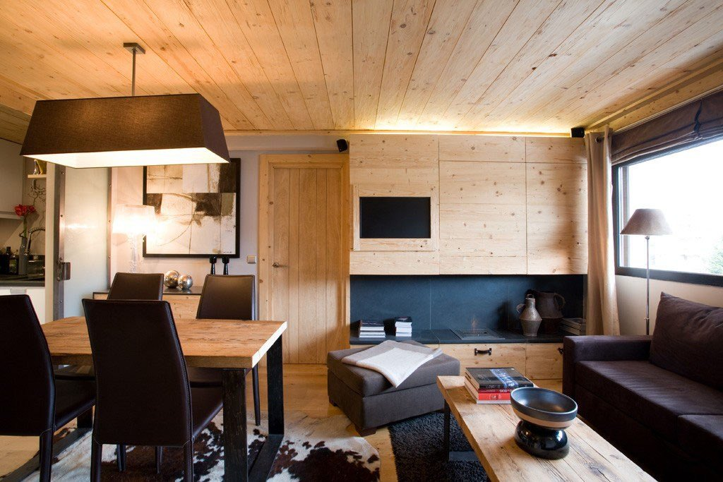 Best Small Apartment With Natural Wood Elements Idesignarch With Pictures