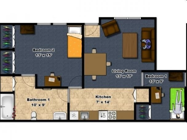 Best 2 Bedroom Apartments In Erie Pa 2 2Br 1Ba University With Pictures