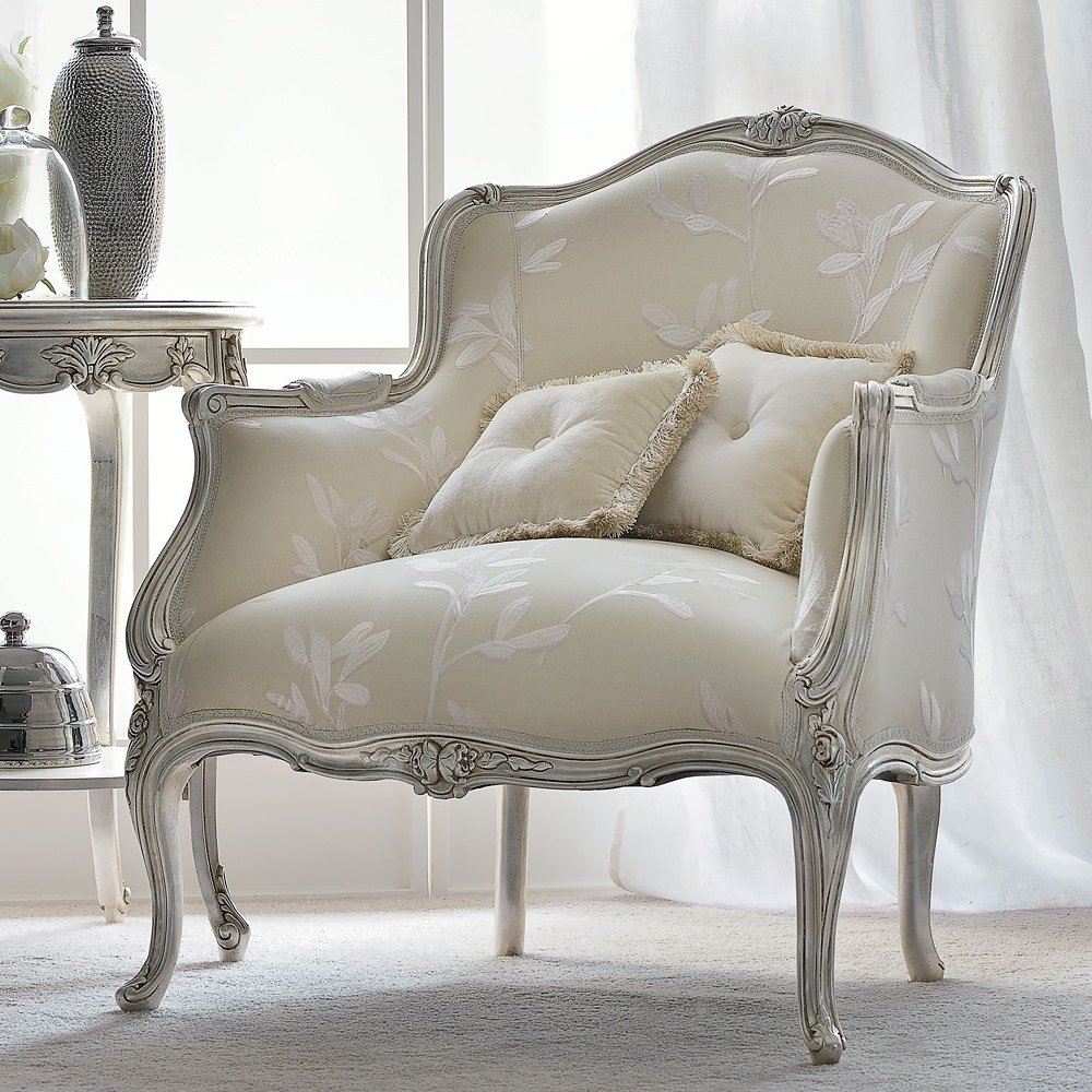 Best Venetian Style Silver Italian Armchair Juliettes Interiors With Pictures