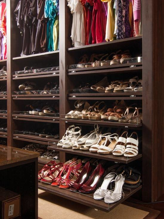 Best Master Bedroom Closet Shoe Organization Remodel Design With Pictures