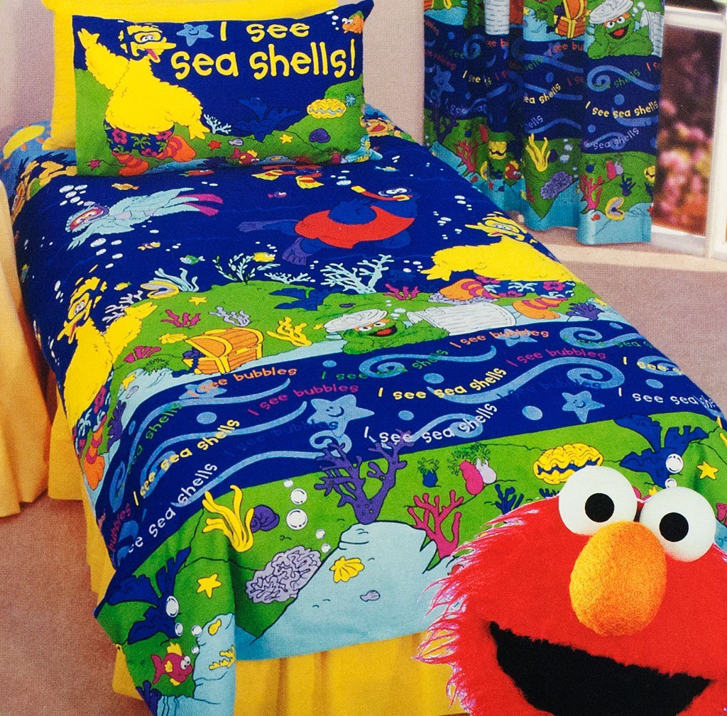 Best A Sesame Street Bedroom Theme Kids Bedding Dreams With Pictures