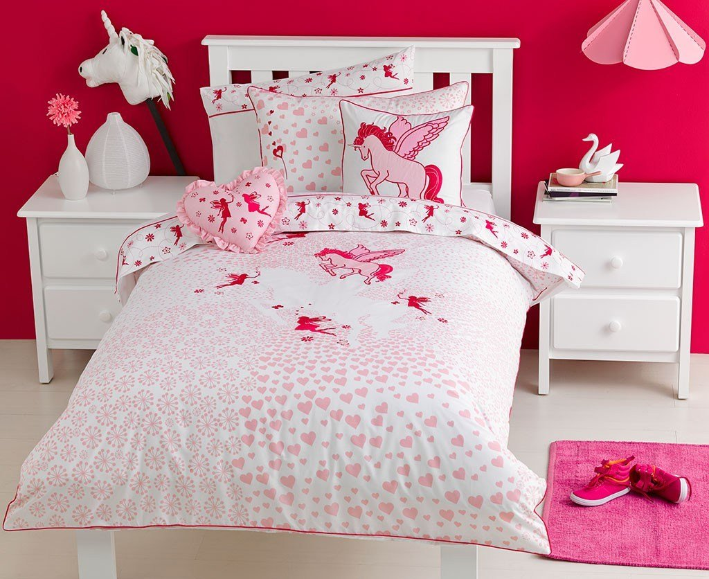 Best Unicorn Quilt Cover Set Unicorn Bedding Kids Bedding With Pictures