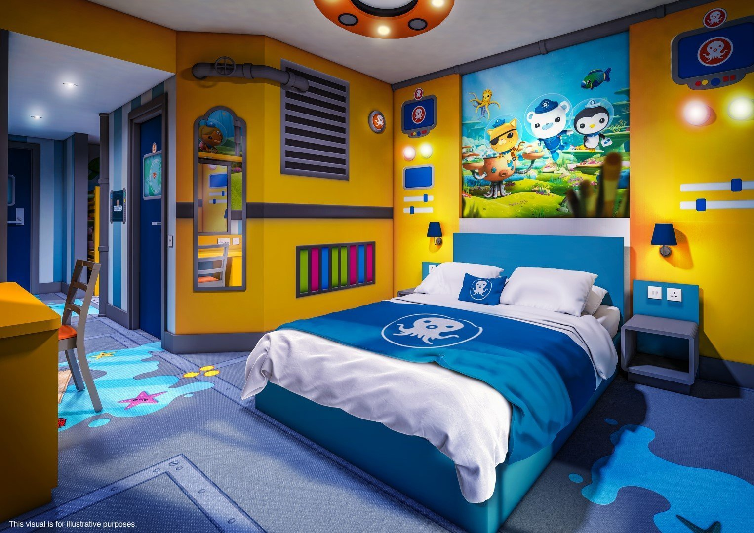 Best Alton Towers Cbeebies Land Hotel Themed Bedrooms Unveiled With Pictures