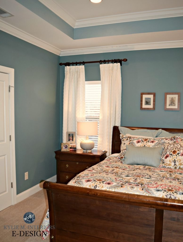 Best E Design A Teal Inspired Master Bedroom Makeover With Pictures
