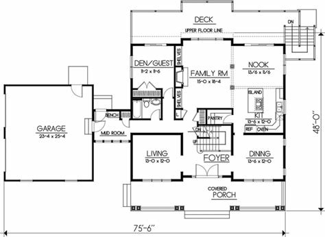Best Craftsman House Plan 5 Bedrooms 3 Bath 2968 Sq Ft Plan With Pictures