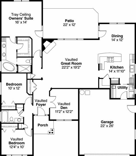 Best Craftsman House Plan 3 Bedrooms 2 Bath 2055 Sq Ft Plan With Pictures