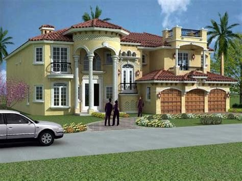 Best Italian House Plan 6 Bedrooms 6 Bath 6664 Sq Ft Plan With Pictures
